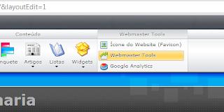 webmaster tools no site webnode