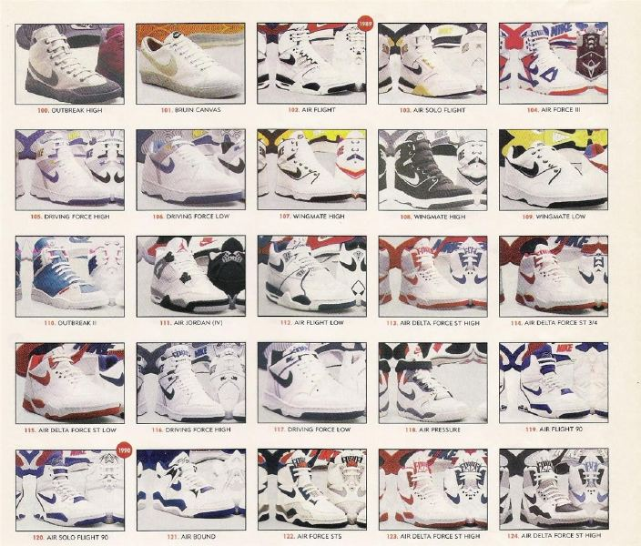 classic fit 45760 617b8 catalog NIKE Basketball SPRING 1990