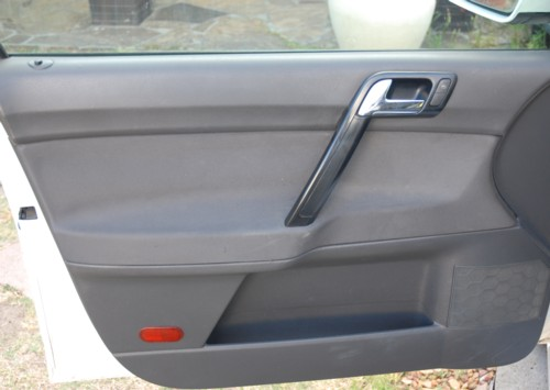 The door panel before dismantling it & VW POLO: DOOR LOCK PROBLEM ON POLO 9N