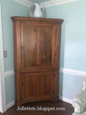 Corner Cupboard https://jollettetc.blogspot.com