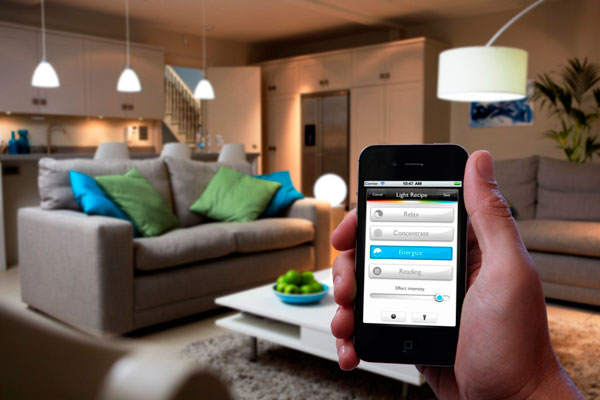 Home Automation by Mobile Phone