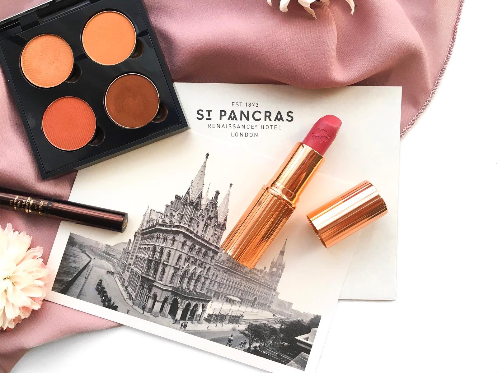 secret salma, charlotte tilbury hot lips secret salma, st pancras, st pancras renaissance hotel, abh quad