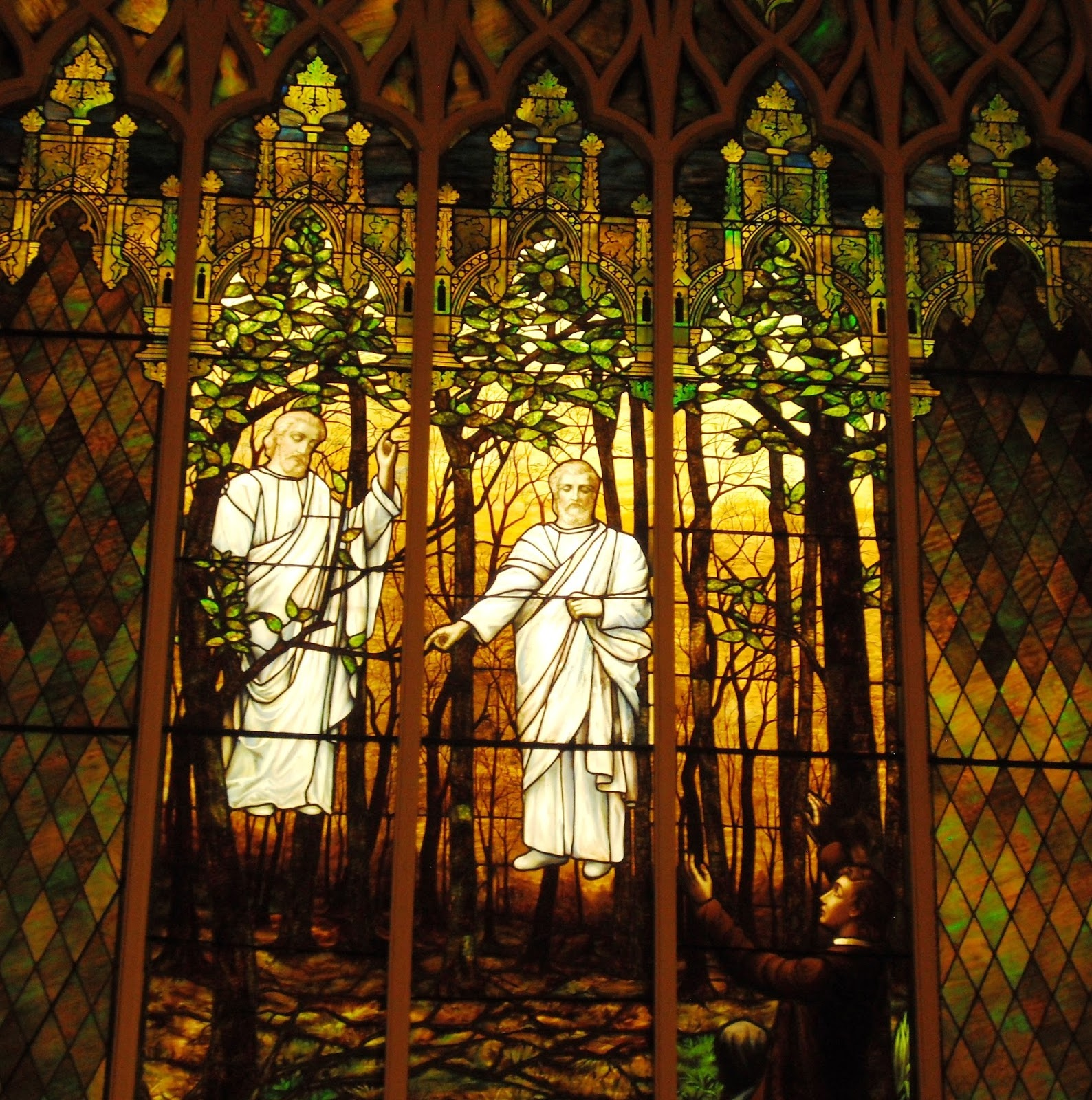 Historic LDS Architecture: Latter-day Stained Glass: Part 3 - In