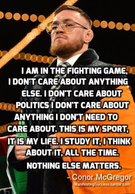 Top Conor McGregor Motivational Quotes
