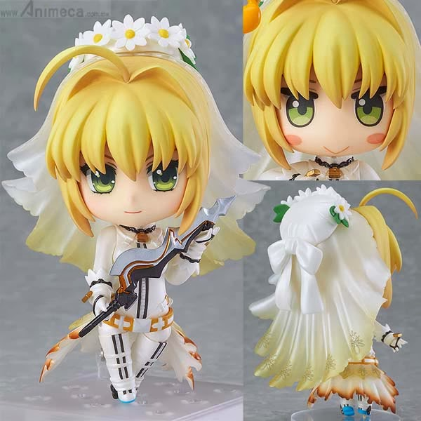 SABER BRIDE NENDOROID FIGURE Fate/EXTRA CCC GOOD SMILE COMPANY