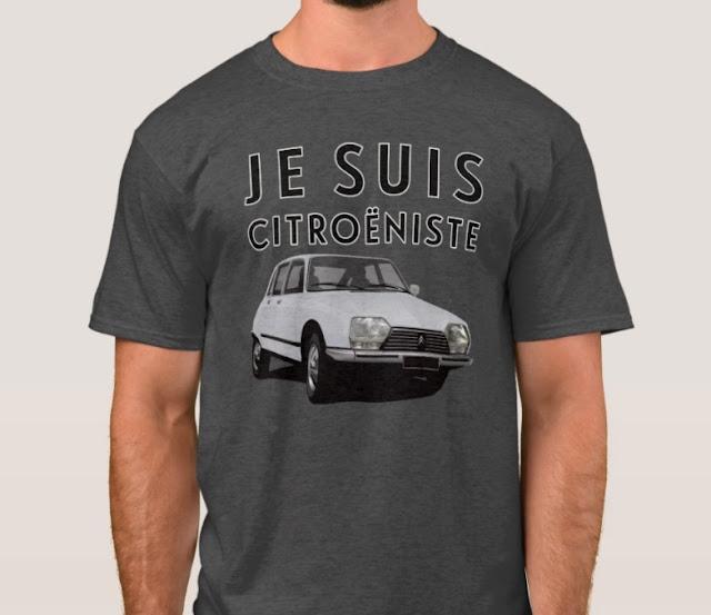 Je suis Citroëniste - CItroën GS - t-shirt