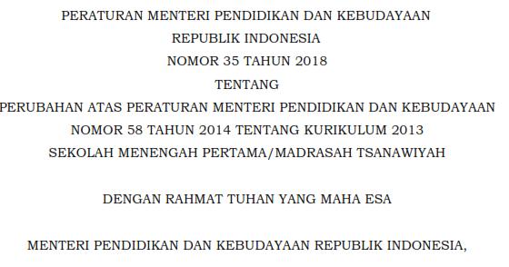 permendikbud no 35 tahun 2018 pdf