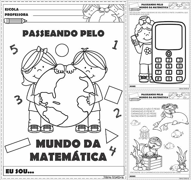 Caderno de Atividades Passeando pelo Mundo da Matemática