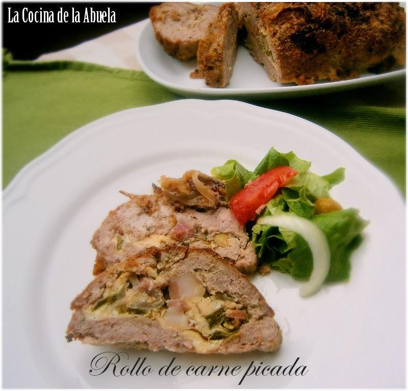 Rollo de Carne Picada.