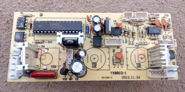 Yaxum 881D placa