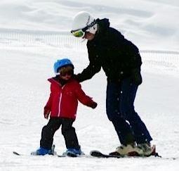 Esquiar con niños. Preparación y equipación