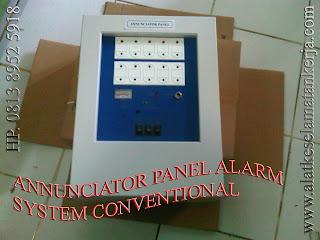 Annunciator Fire Alarm System