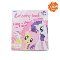 Alfacart Buku Gambar Come And Play With Friends My Little Pony Coloring Book S ANDHIMIND