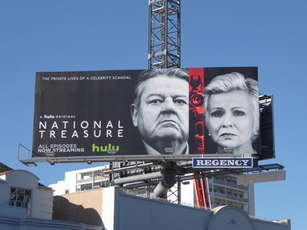 National Treasure TV series billboard