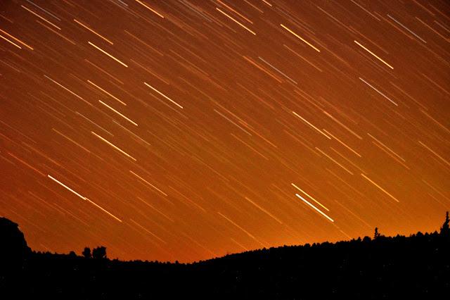 Stars, Oregon, Long Exposure, Lake Billy Chinook