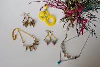 gypsy crystals stones bohemian jewelry