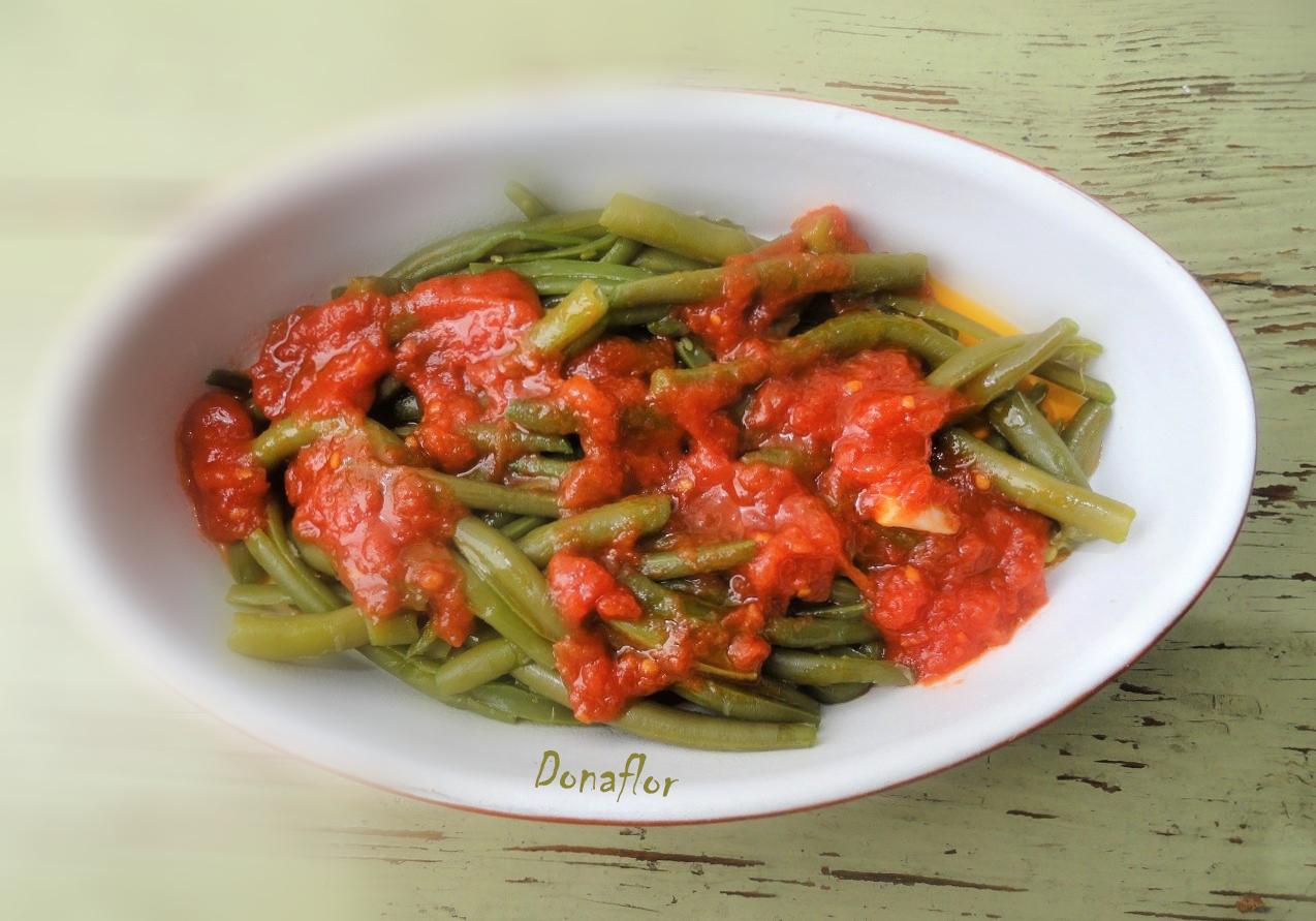 Donaflor : cucina pugliese: fagiolini alla pugliese