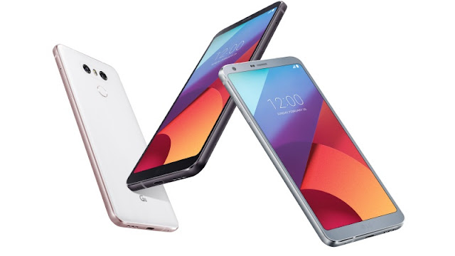 LG G6 smartphone, bezel-less and its specification