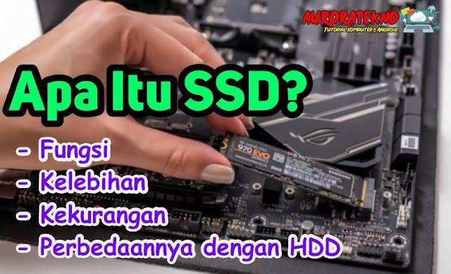 Apa Itu SSD, Fungsi, Kelebihan, Kekurangan & Perbedaannya