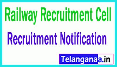 Railway Recruitment Cell RRC Recruitment Notification