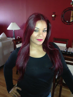 Ion Light Burgundy Brown Hair Color