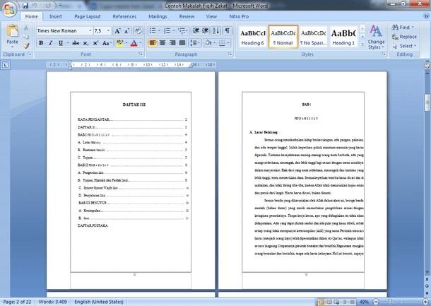 Zakat pdf tentang makalah