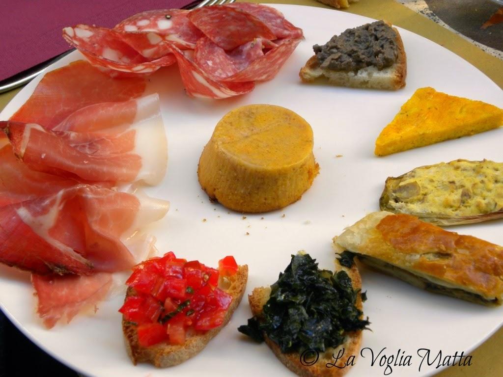 Osteria De' Cenci Arezzo antipasto