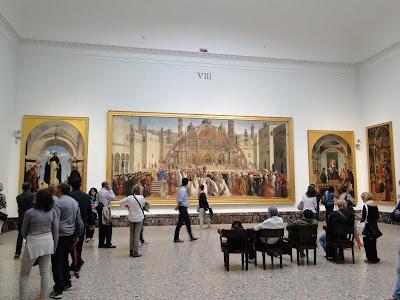 Salão da Pinatoteca de Brera