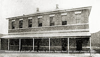 Hospital block inside the Female Division, Boggo Road Gaol, 1903.