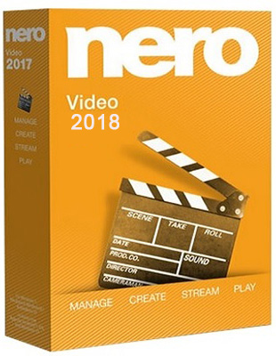 Nero Video 2018 19.0.01000 poster box cover