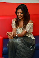 Eesha in a cute deep neck top and Skirt at at Big FM 061.JPG