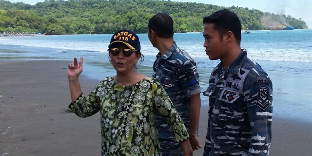 Ilegal Fishing, Kapal Coastguard China Hadang Kapal Patroli Indoneisa di Laut Natuna