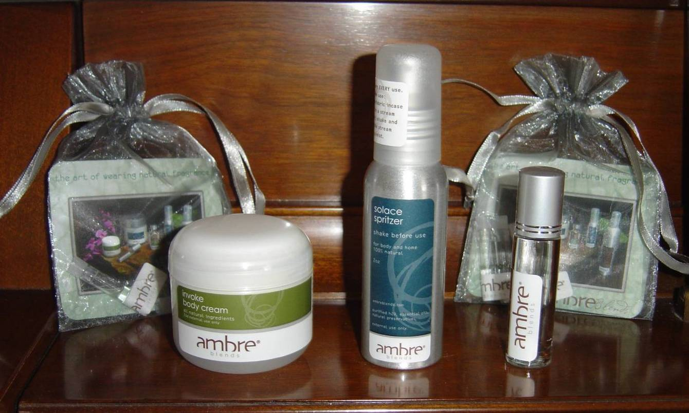 Ambre Blend fragrance products