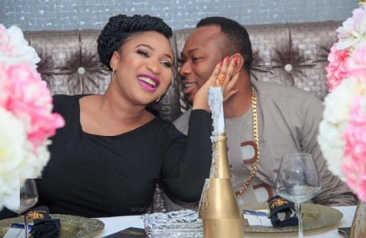 Tonto Dikeh & Ex- Husband Comes For Each Other Again