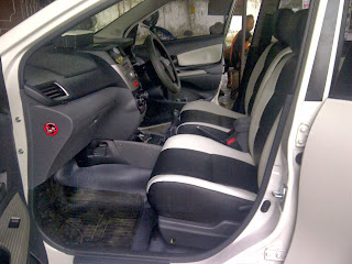 Jok Grand New Avanza All Vellfire 2019 Veloz Black White Modif Cover Mobil Purwokerto