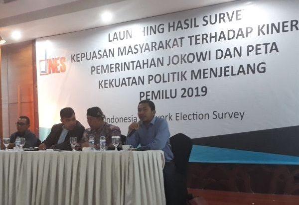 H-5 Nyoblos, INES: Prabowo-Sandi Menang 52,66%