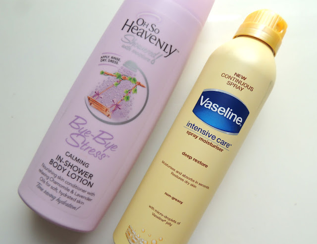 Clicks and Dischem Beauty Haul || OSH In-Shower Body Lotion and Vaseline Spray Moisturiser || Jane Wonder