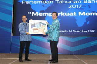 Hadir Pertemuan Tahunan BI, Wagub  Katakan  Pemprov  Akan Optimalkan RKPD 2018