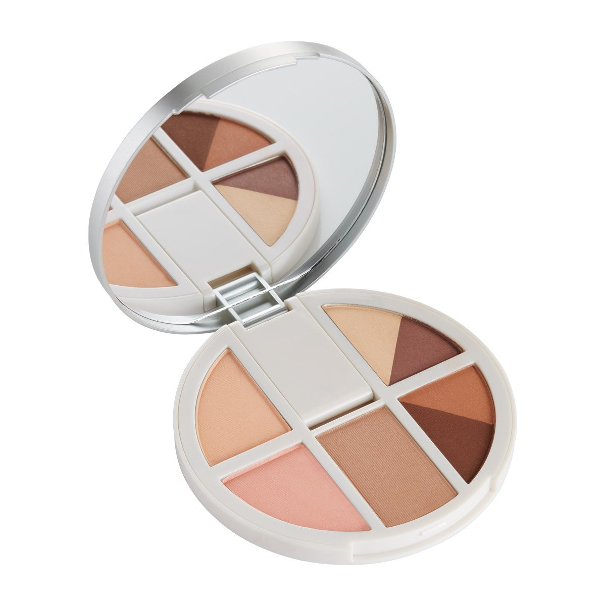 Review Pr Cosmetics Vanity Palettes Eyes Cheeks Purcosmetics Inez Color Contour Plus Loose Eyeshadow Powder Sparkling Silver Dream Chaser Has Light Golden Colors That Look Very Pretty On Warm Toned Gals It Is My Favorite Of The Two Because Contains More