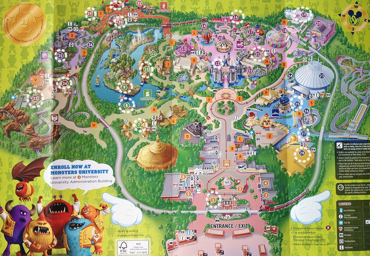 Download ePub PDF Book      map od disneyland