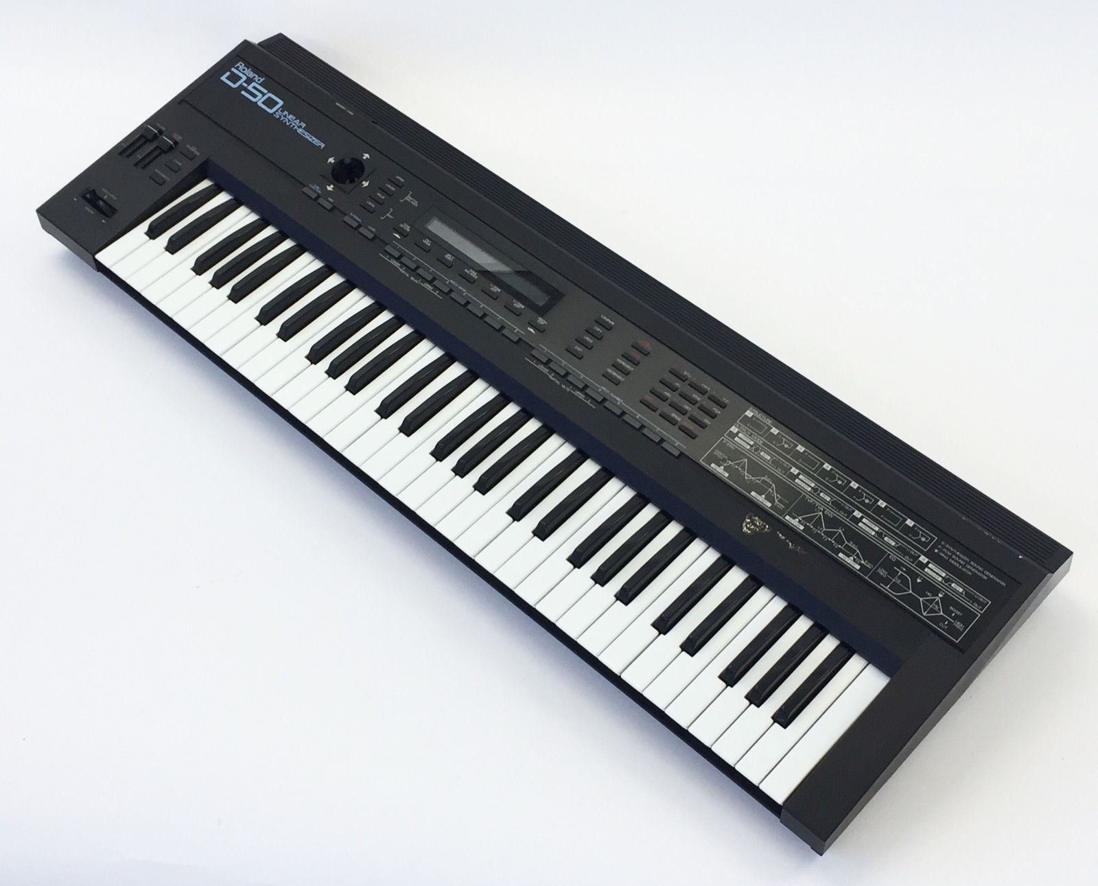 MATRIXSYNTH: Roland D50 Digital Linear Synthesizer SN 873561