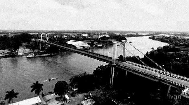 ေဇာ္ေအာင္ (မုံရြာ) ● ဆပ္စပင္းရွင္းတံတား (Suspension Bridge)