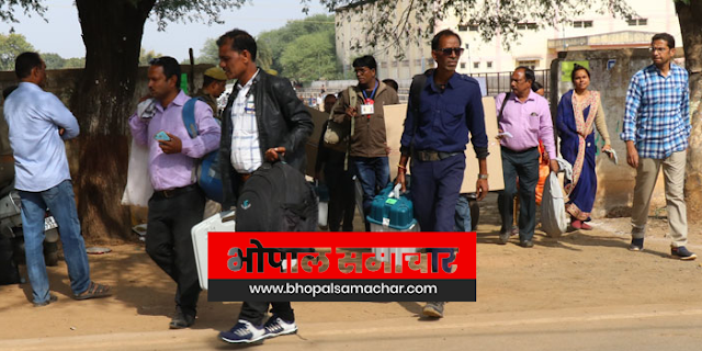 निर्वाचन दलों को मतदान केंद्र पर भोजन उपलब्ध कराने में खूली लूट बंद हो | EMPLOYEE NEWS