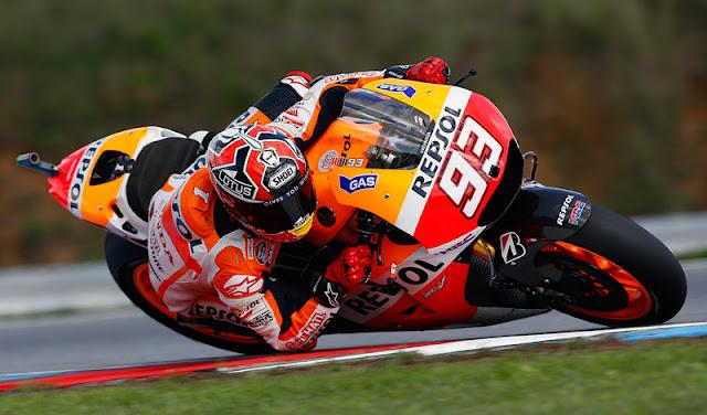Hasil Kualifikasi MotoGP Brno : Marquez Pole, Rossi 6
