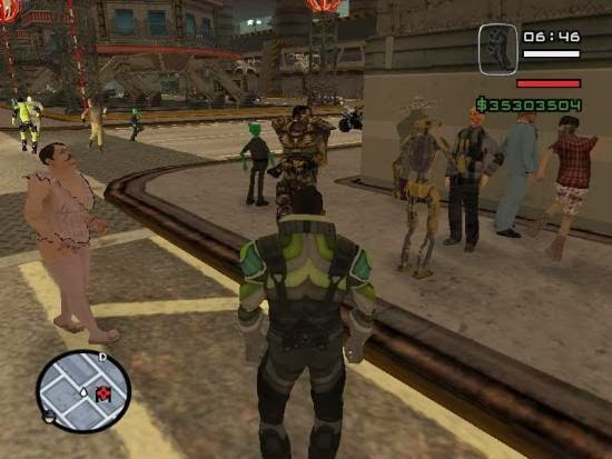 Grand Theft Auto San Andreas Alien City MOD Download