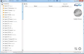 Xperia Firmware Downloader