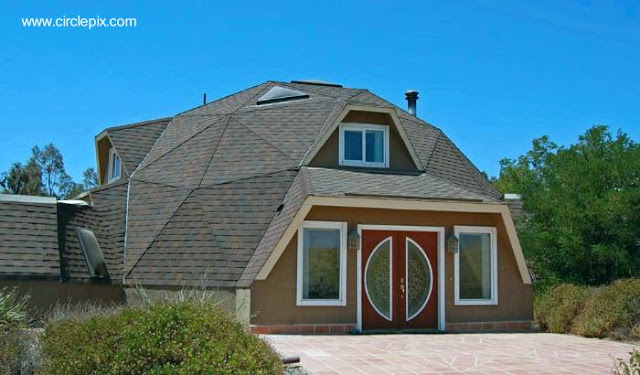 Casa residencial diseño domo geodésico en Livermore, California