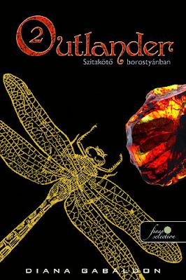 Diana Gabaldon – Szitakötő borostyánban (Outlander 2.) könyves vélemény, könyvkritika, recenzió, könyves blog, könyves kedvcsináló, György Tekla, Tekla Könyvei