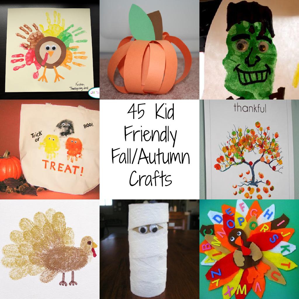 Autumn Lights Picture: Autumn Kids Crafts