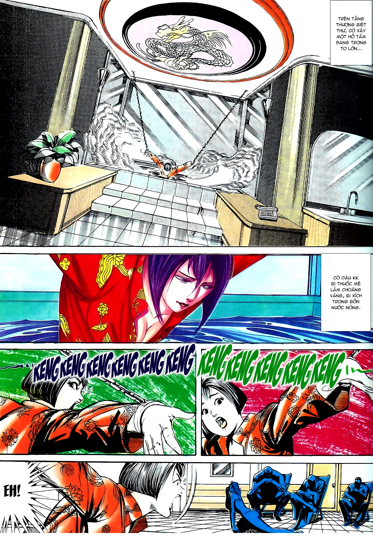 Người Trong Giang Hồ chapter 140: vây giết a khôn trang 5